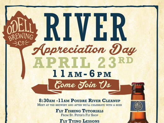 Odell River Appreciation Day April 23, 2017
