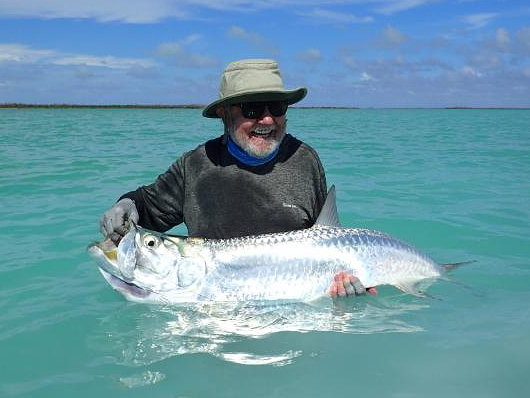 Cuban tarpon with Bob Green