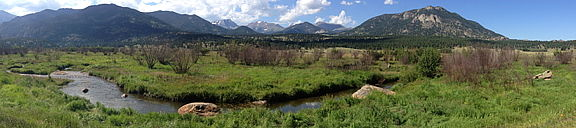 Dave Morse's photo of Cub Creek in RMNP