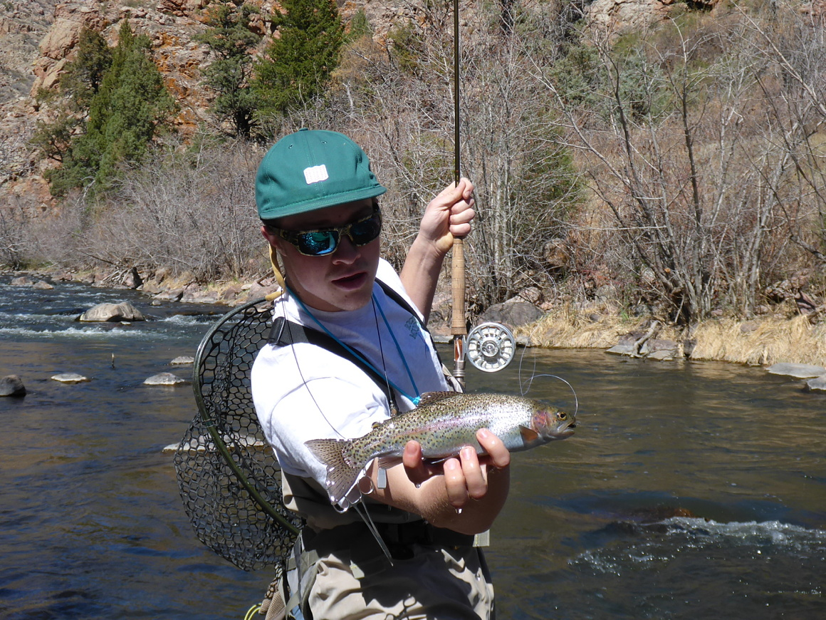 Phantom canyon rocky mountain flycasters for Eleven mile canyon fishing report