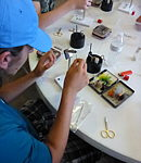 2016 Camp fly tying session