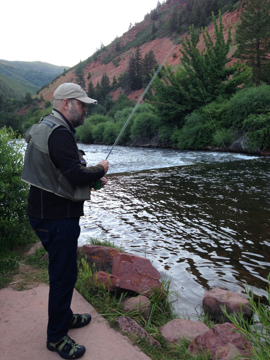 Classical music and fly fishing in aspen rocky mountain for Aspen fly fishing